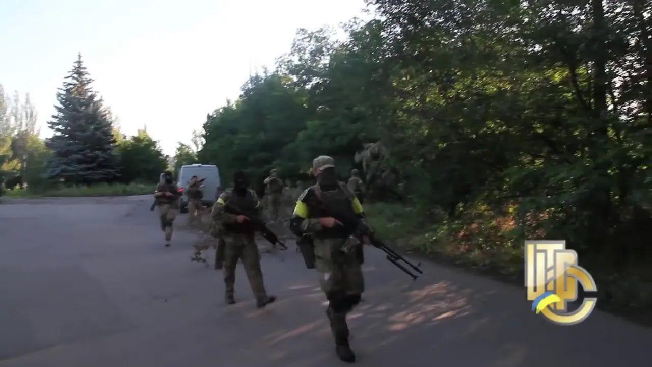 Українські військові в Торецьку