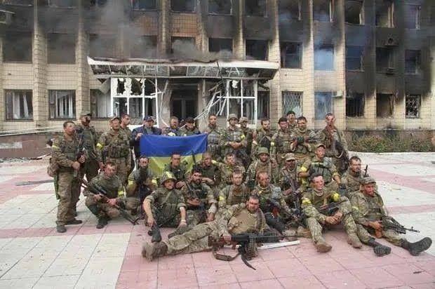 Воїни ВСУ звільнили Торецькому