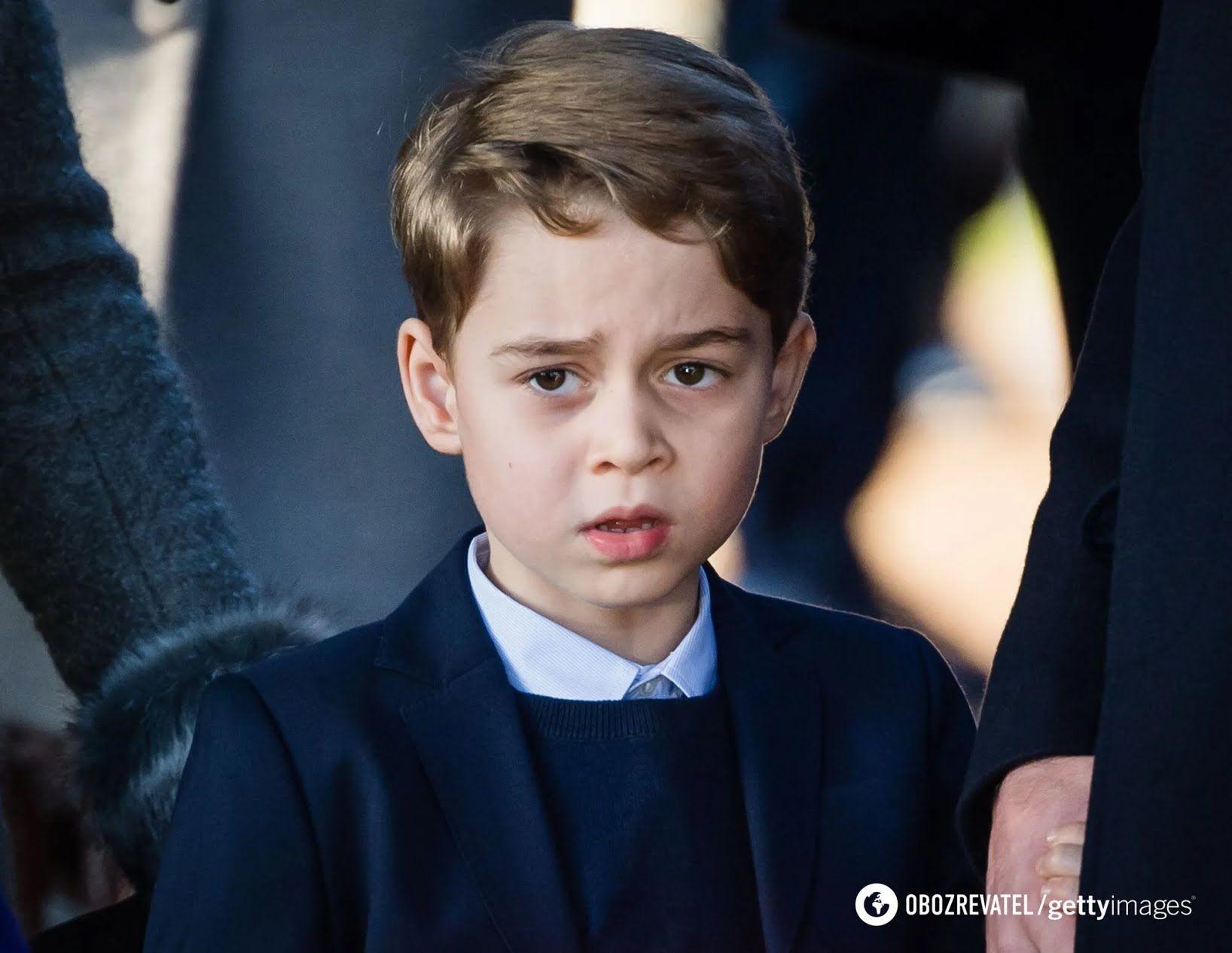 Принц Джордж старший син в сім'ї.