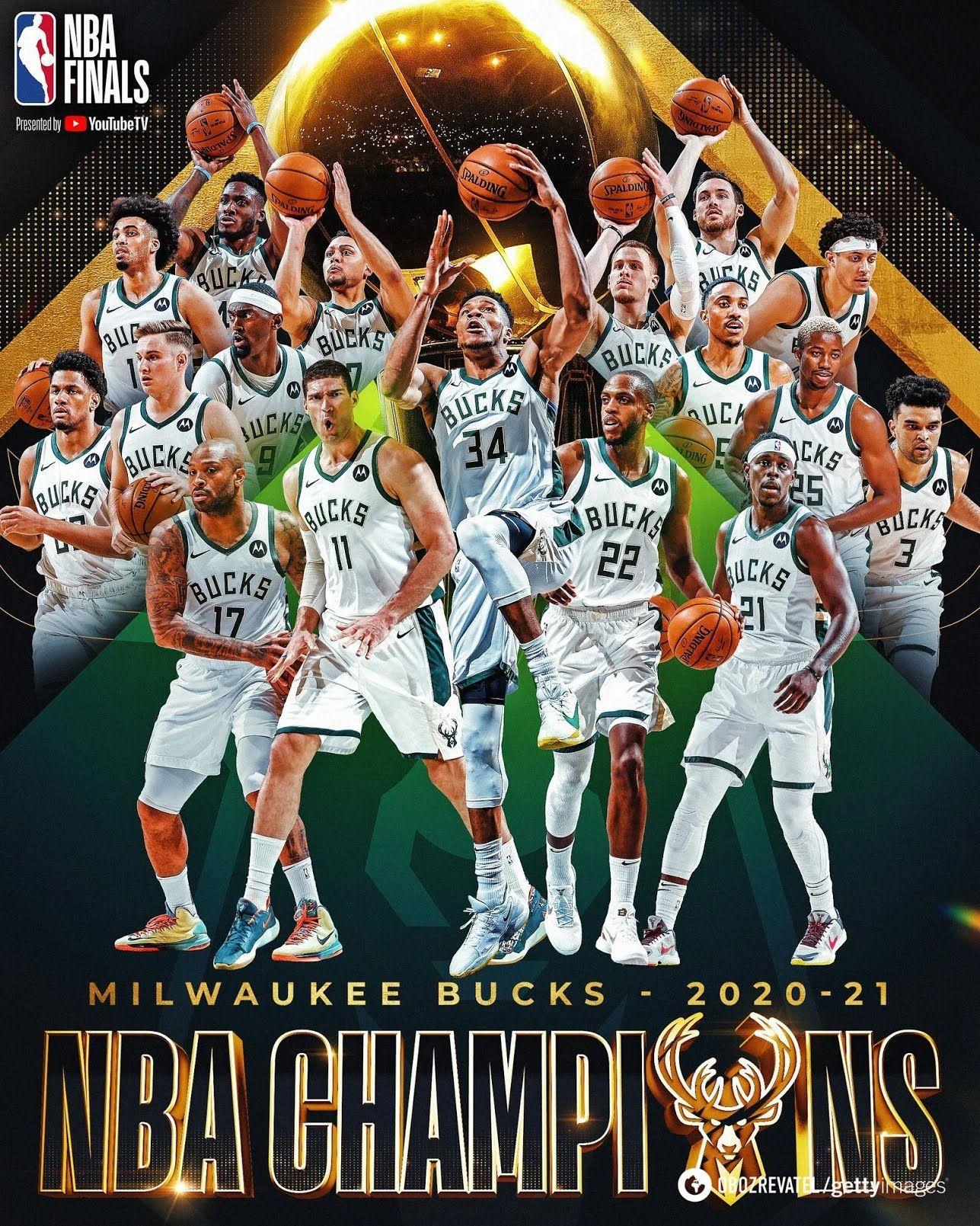 """""""Мілуокі"""" виграв НБА вперше за 50 років"""