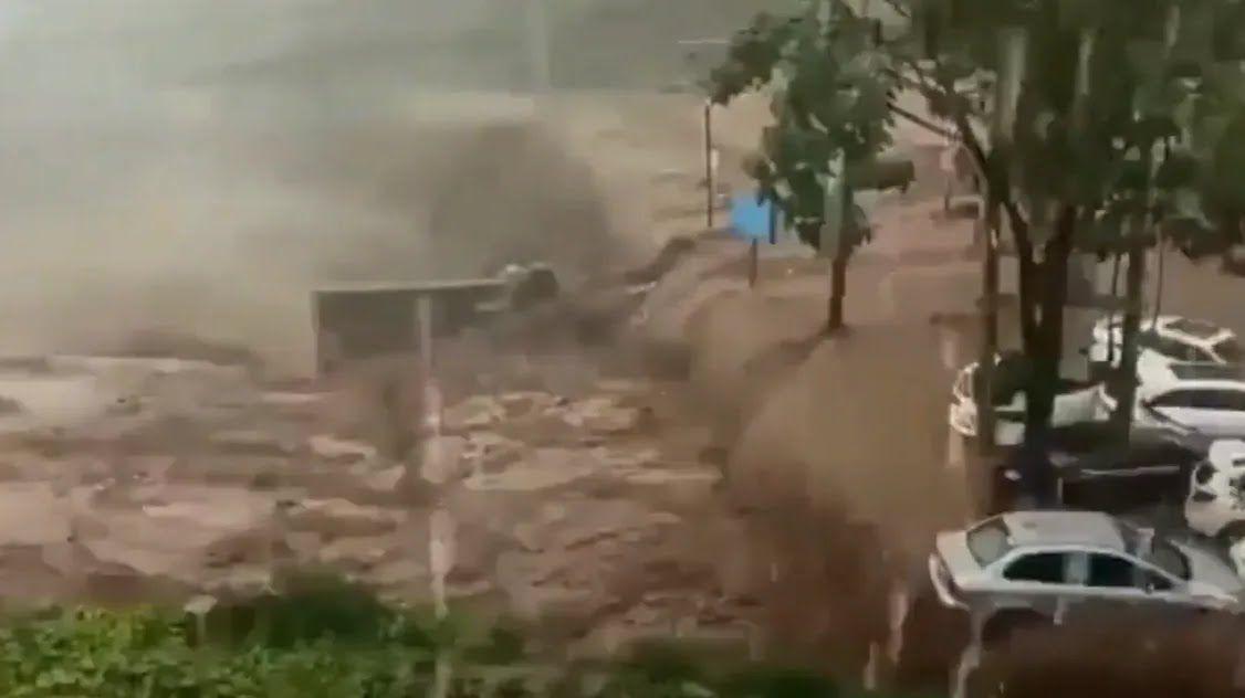 Потоп в Китае.