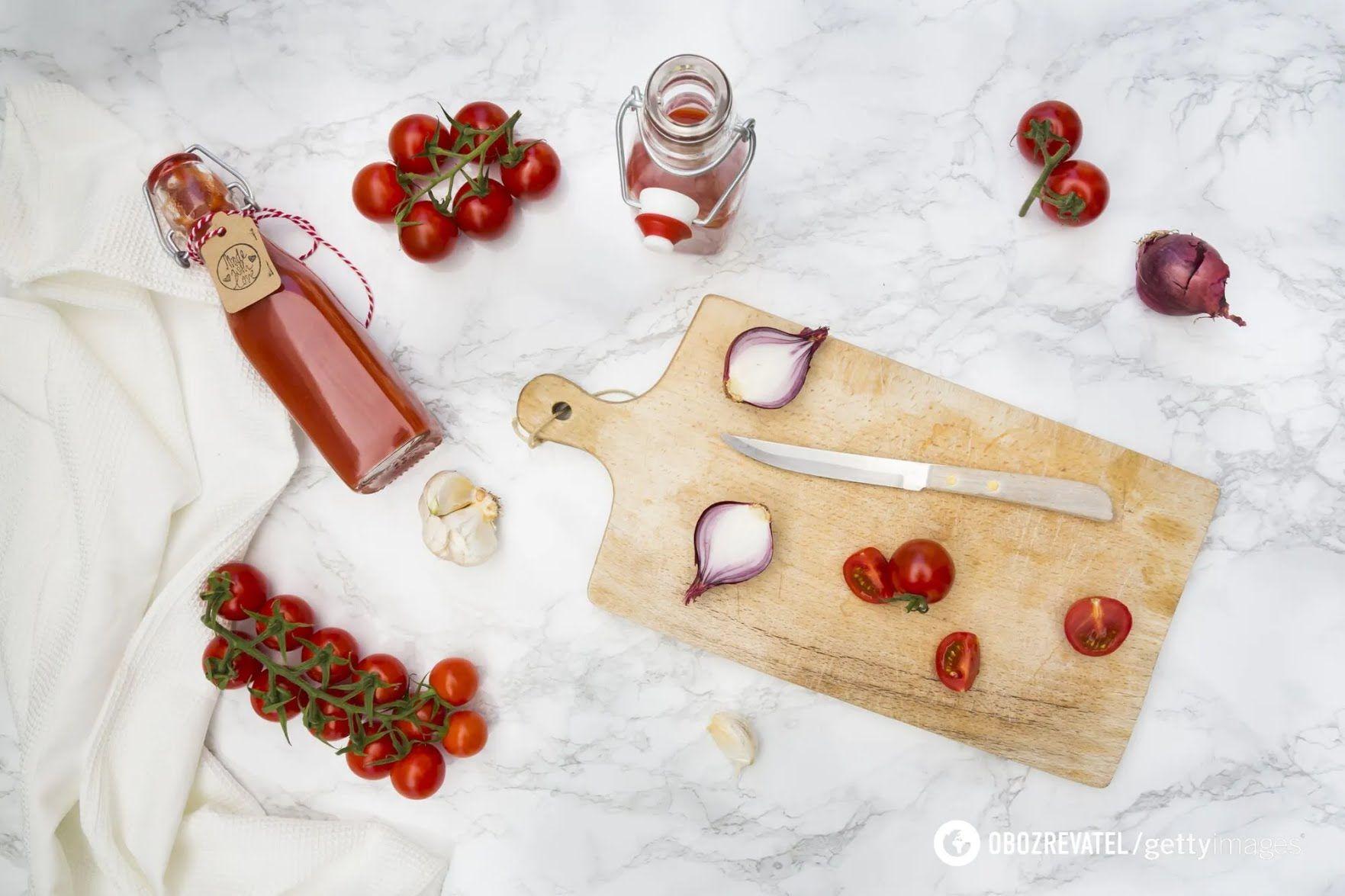 Как вкусно приготовить домашний кетчуп