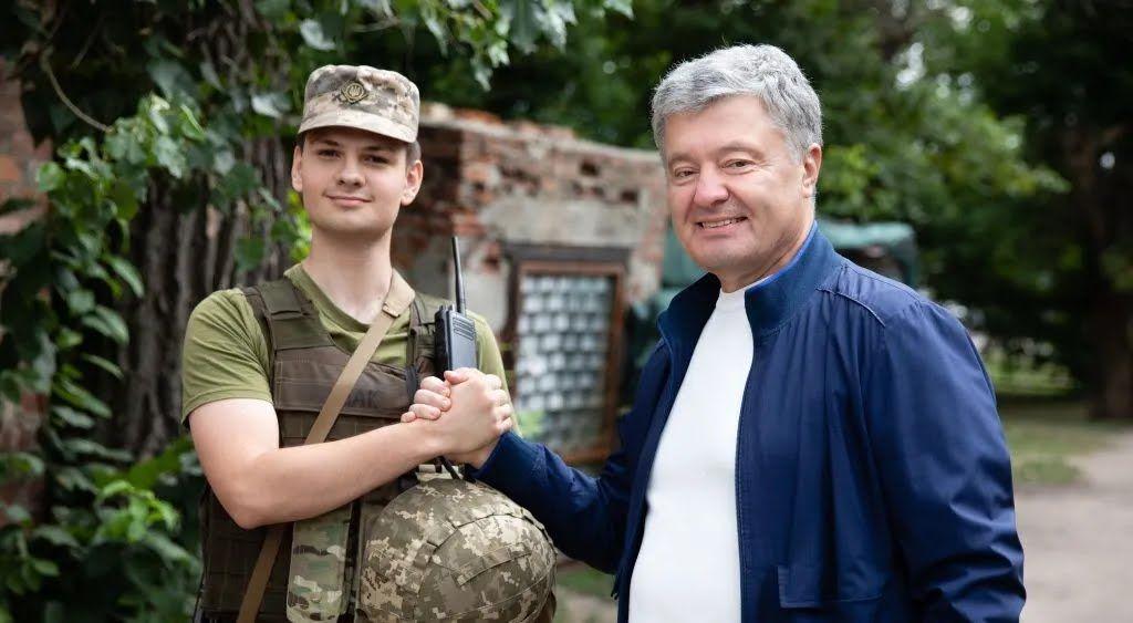Порошенко поспілкувався із військовими
