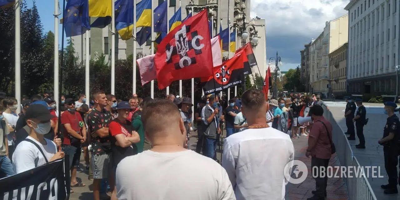 Активісти вимагали від ОП активізації протидії агентам впливу Росії в Україні