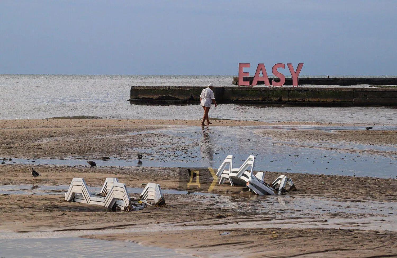 В Одесі пройшла сильна злива.