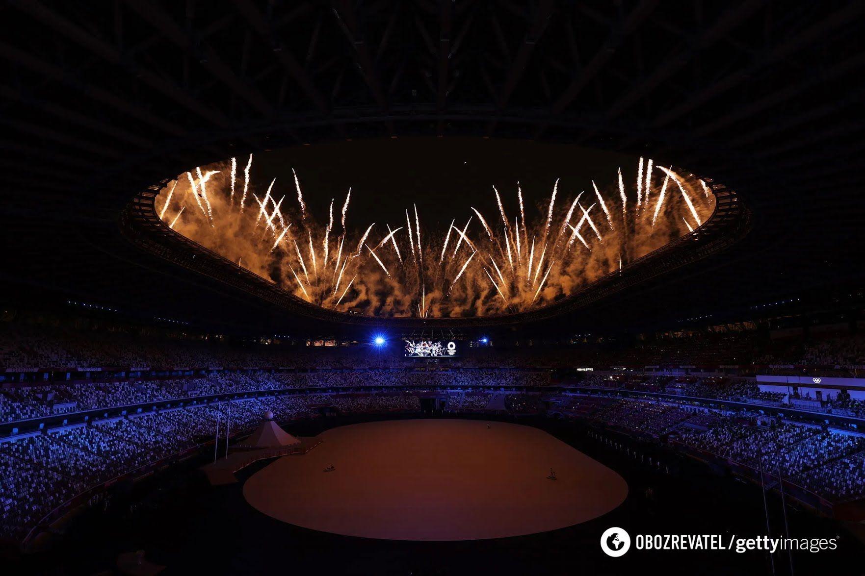 Салют на відкритті Олімпійських ігор