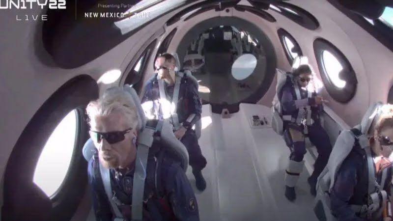 Бренсон у космосі