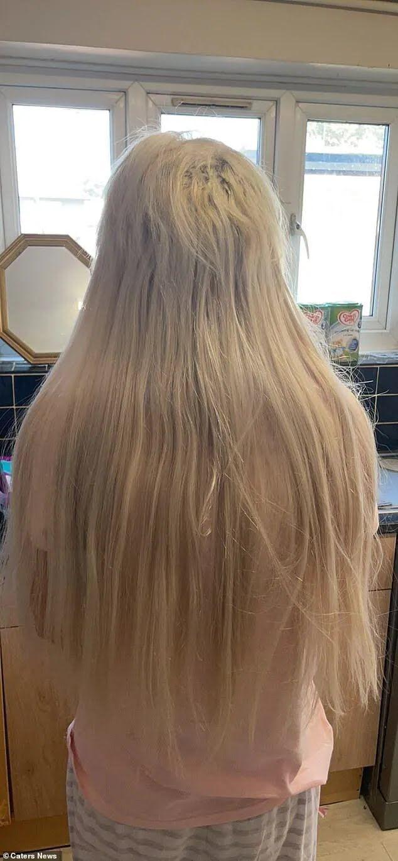 Як виглядає зараз волосся Лейсі