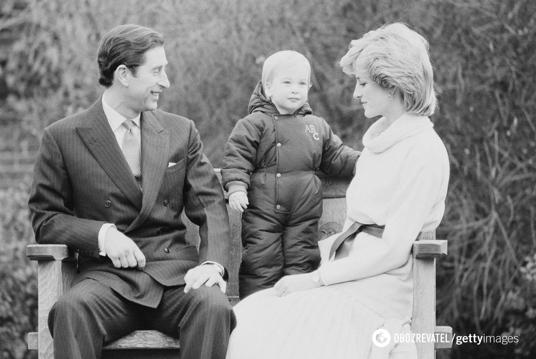 Королівська пара зі своїм сином