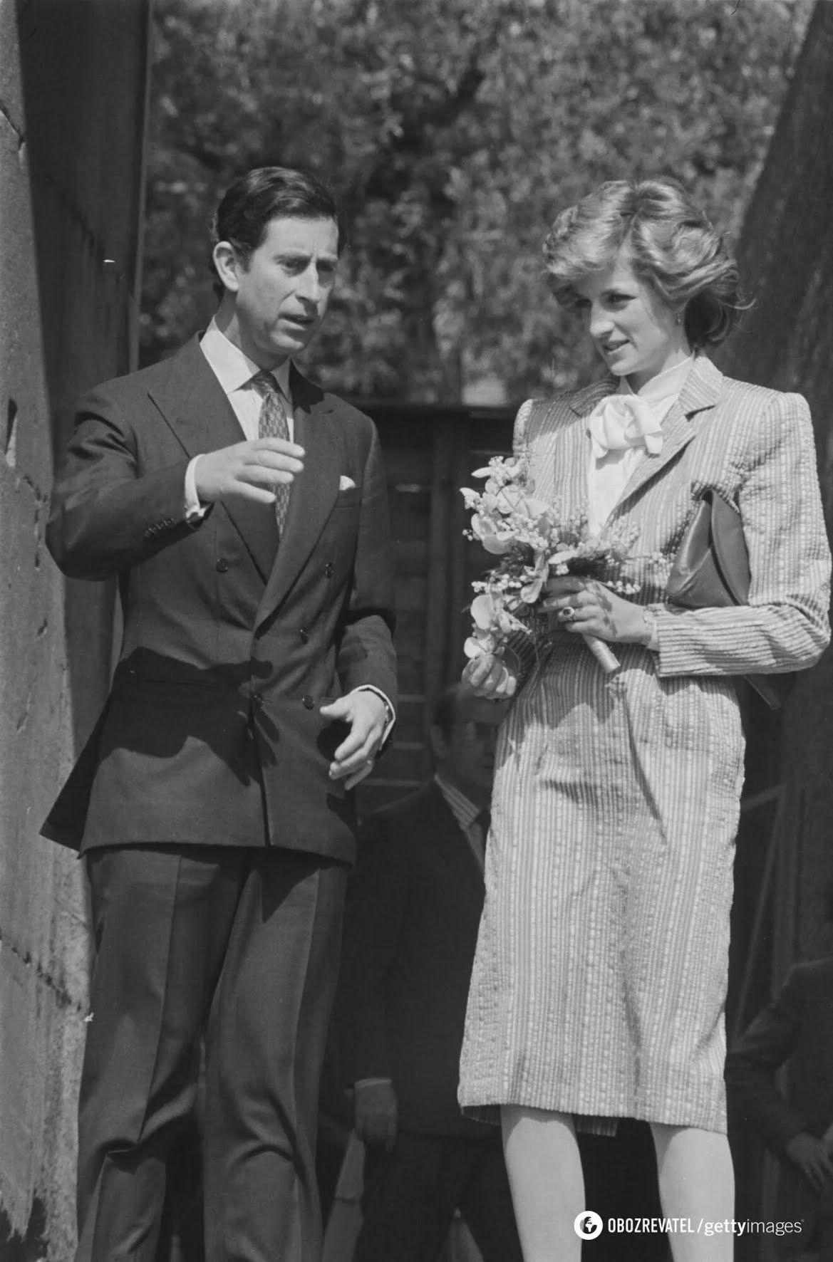 Принцеса Діана та її обранець – принц Чарльз