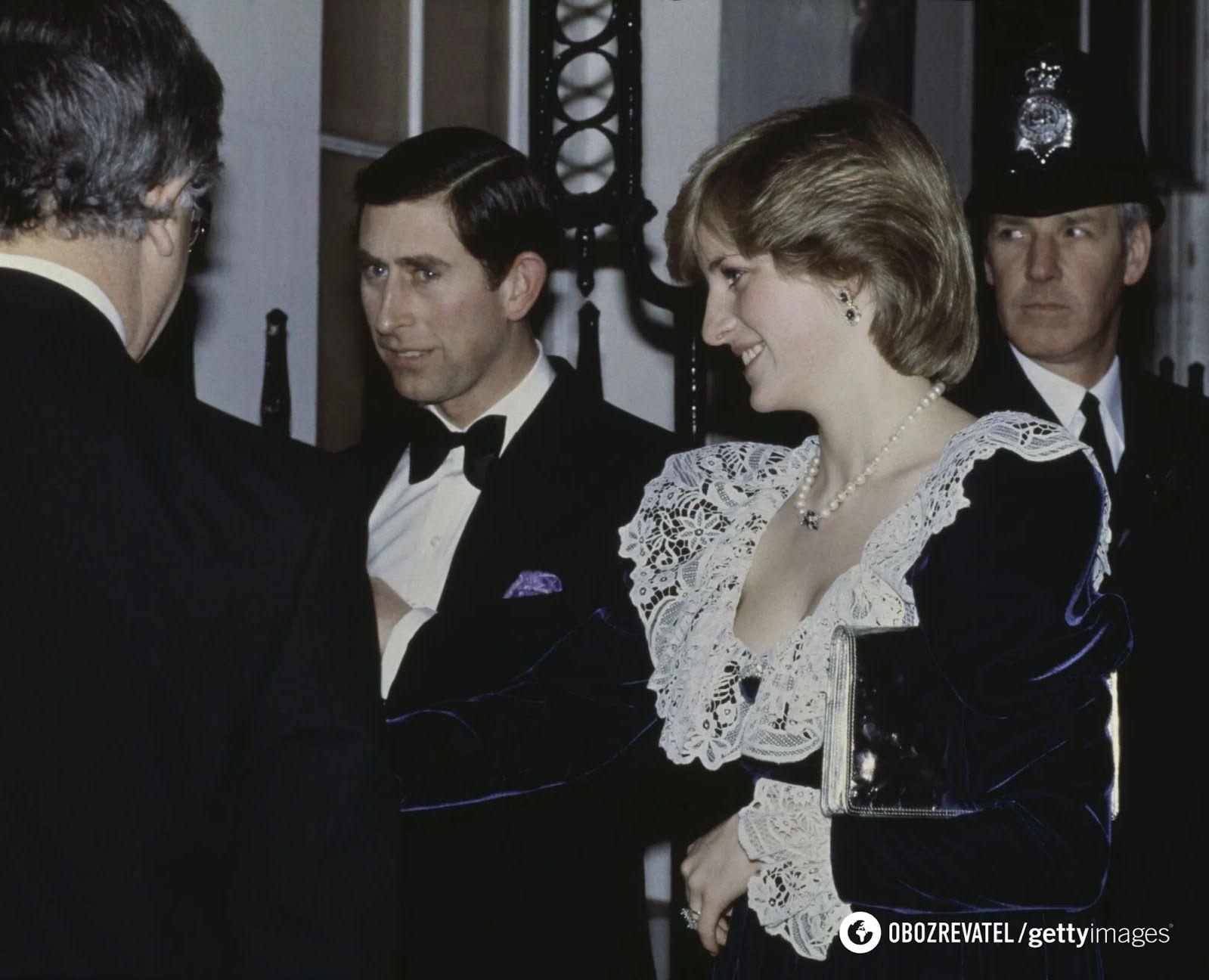 Принцеса Діана та її чоловік принц Чарльз