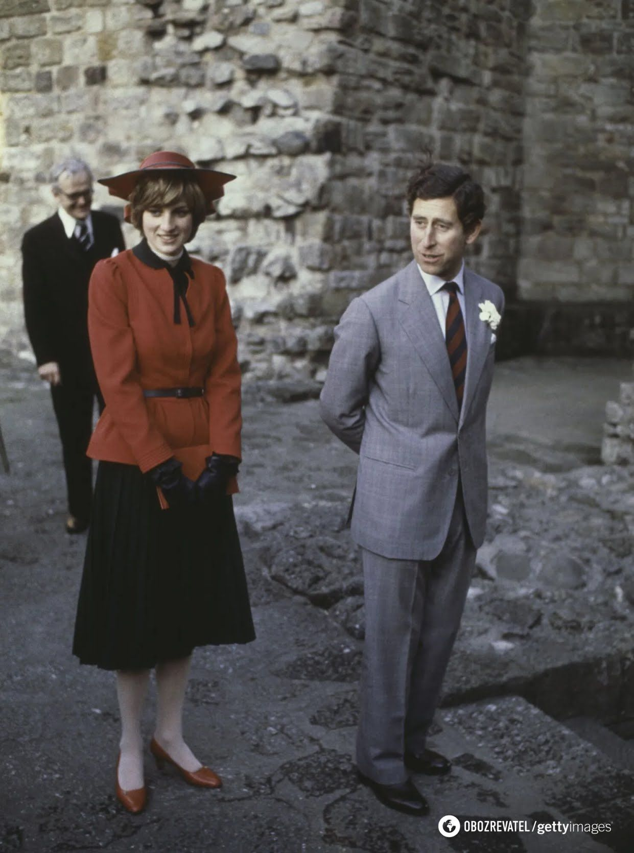 Королівська пара на публіці