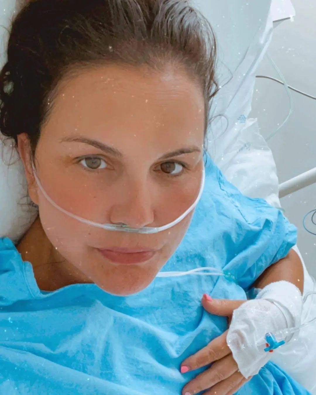 Катия Авейру в больнице