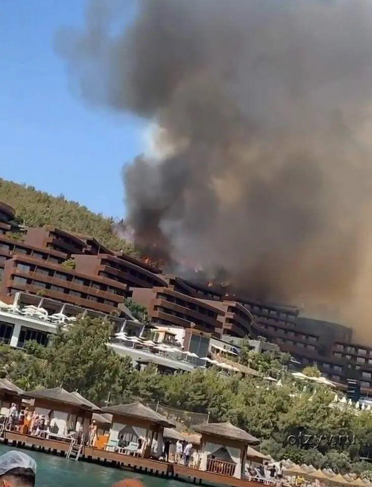 У Туреччині спалахнула нова пожежа.