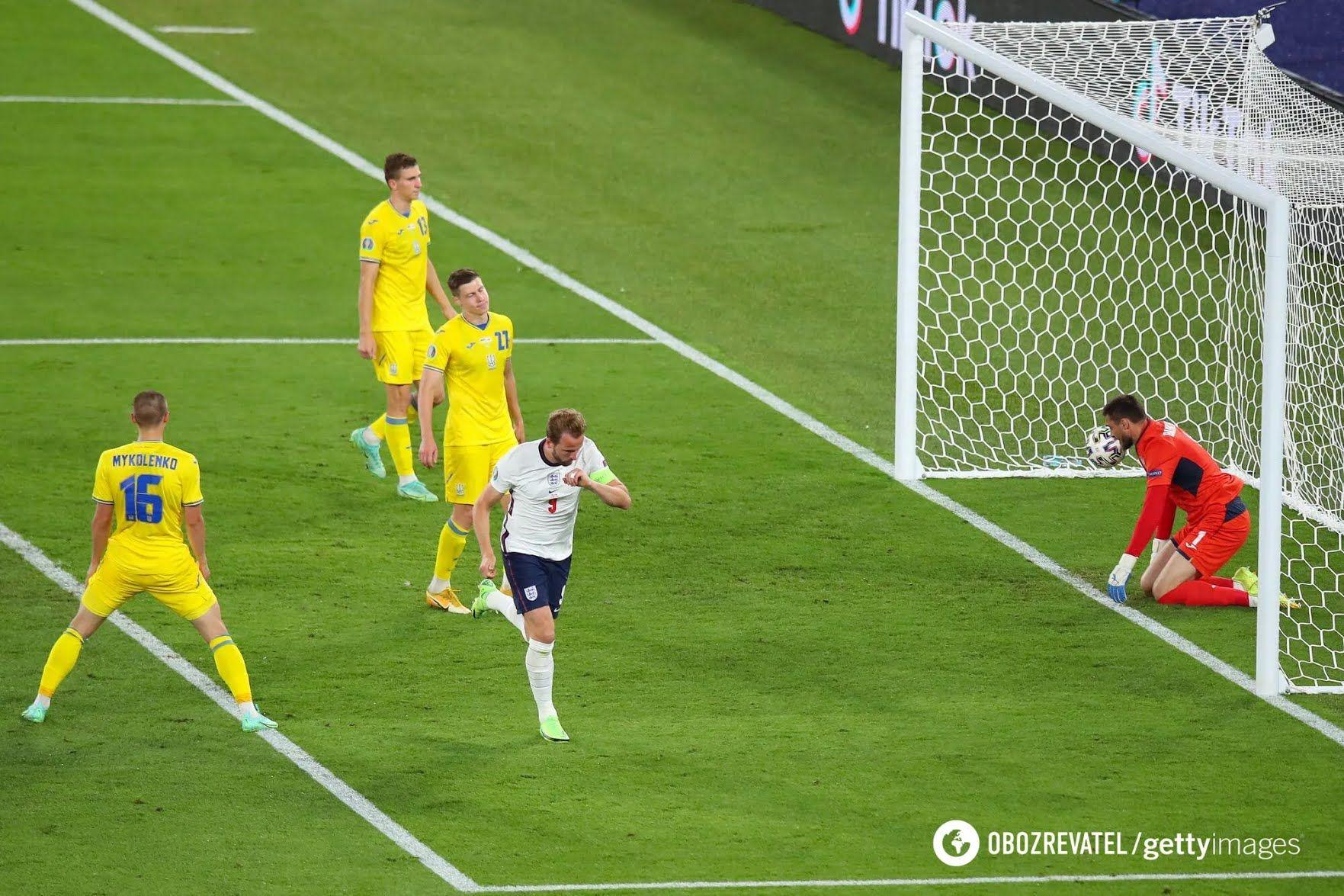 Англія розгромила Україну з рахунком 4:0