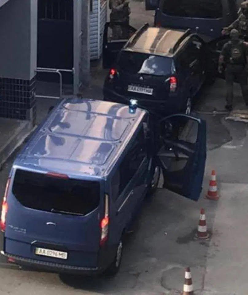 Чауса доставили в спецв'язницю СБУ.