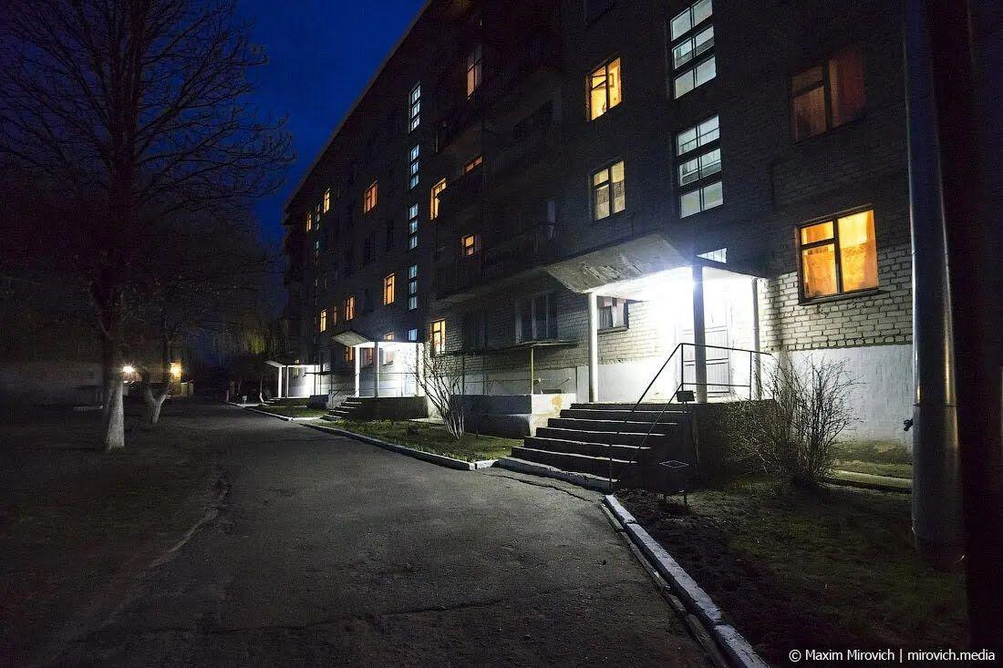Вогні нічного Чорнобиля