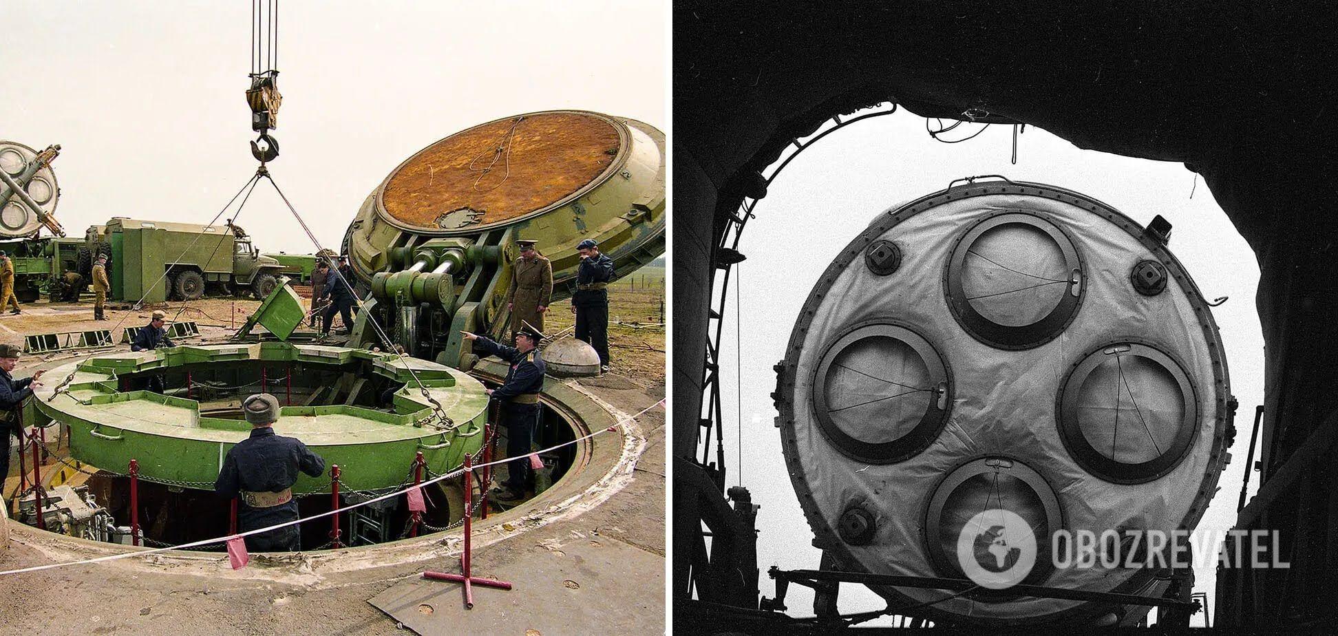 Демонтаж ядерної ракети СС-19. Первомайськ, Миколаївська область
