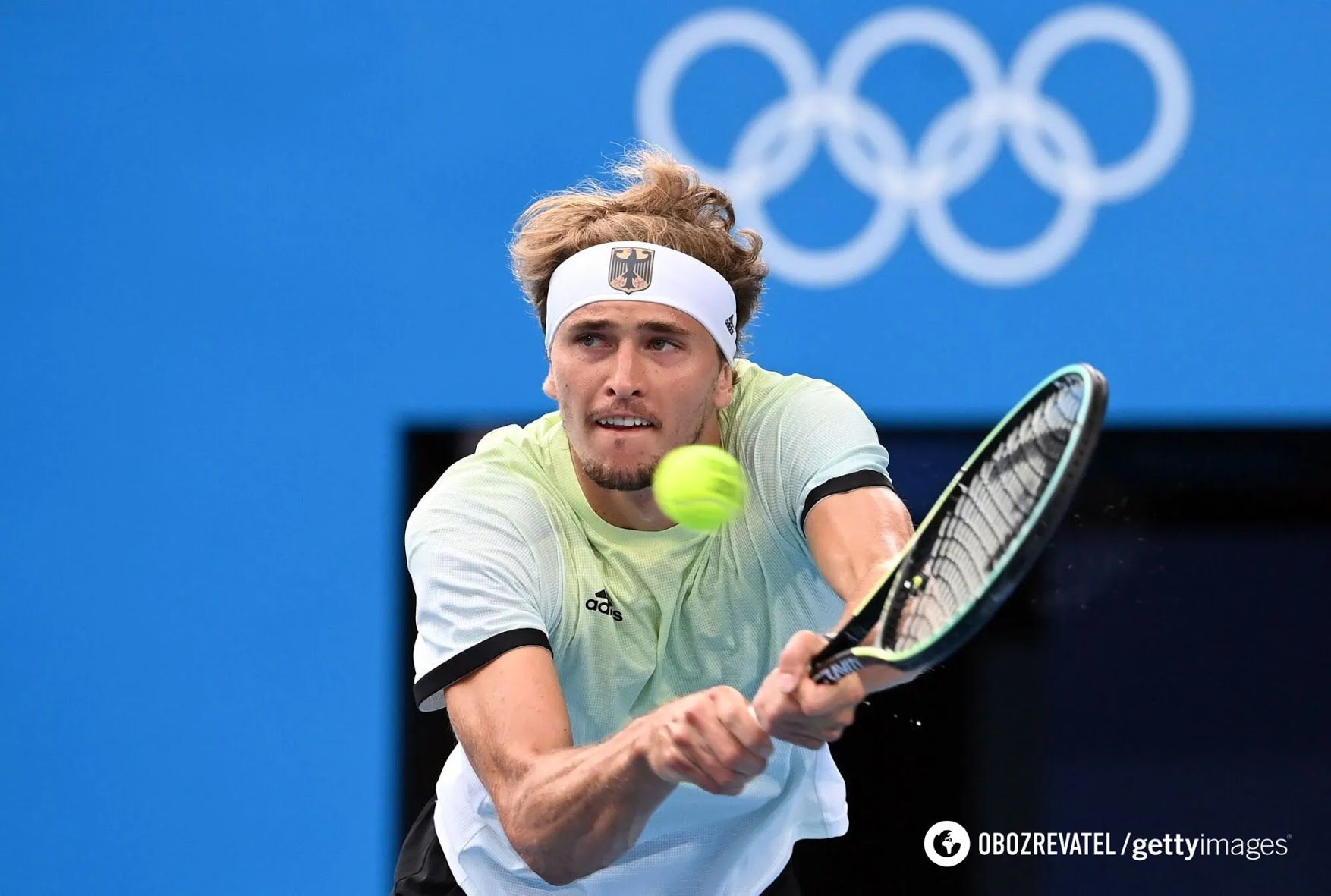 Александр Зверев вышел в финал Олимпиады.