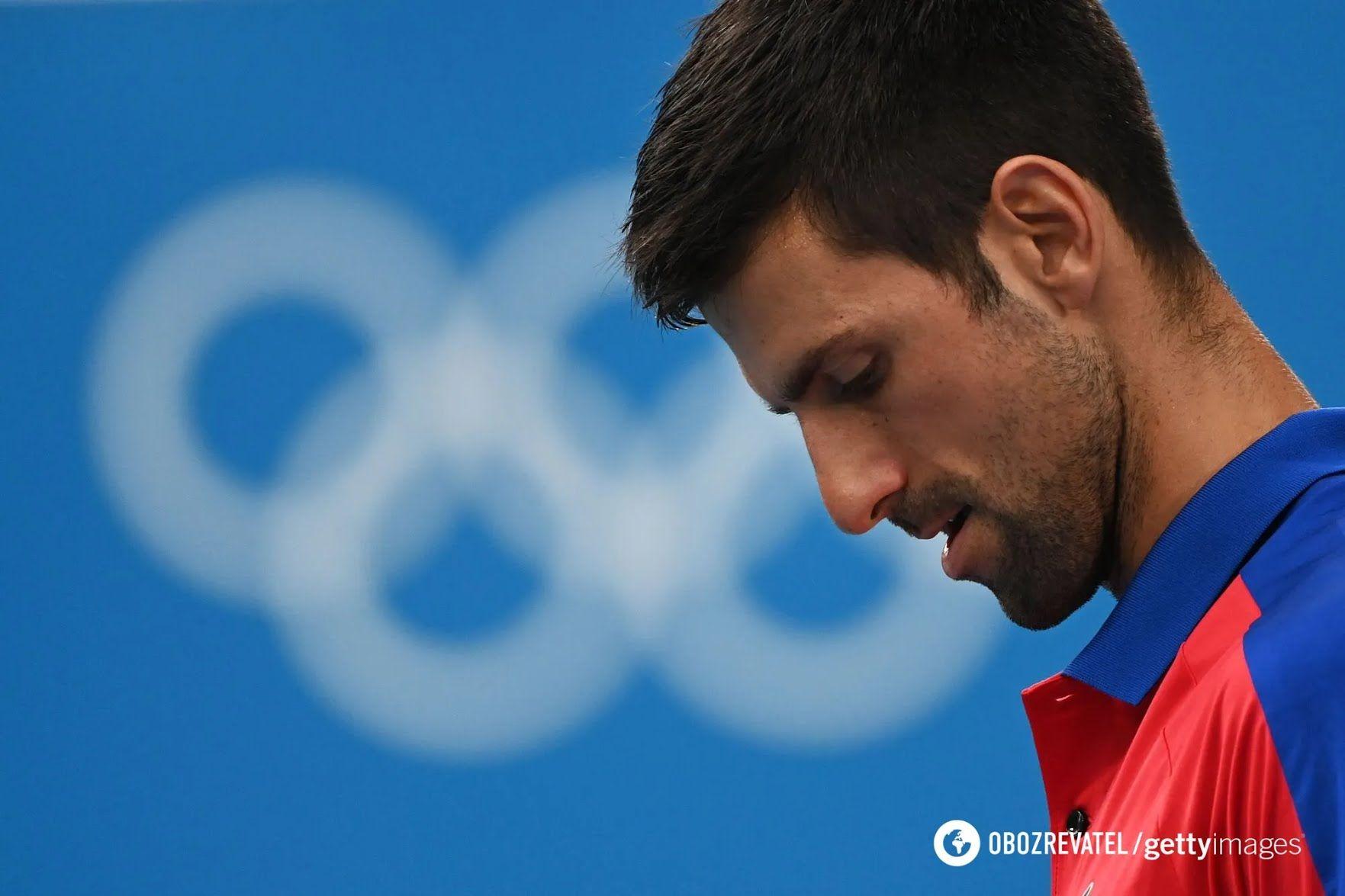 Новак Джокович проиграл полуфинал ОИ.