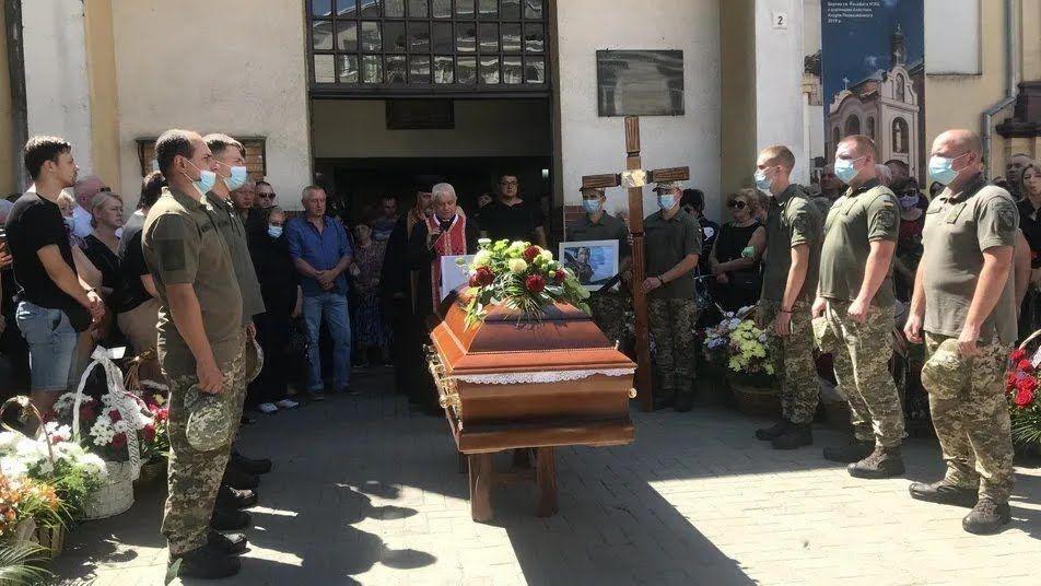 Похороны Игоря Табанюка