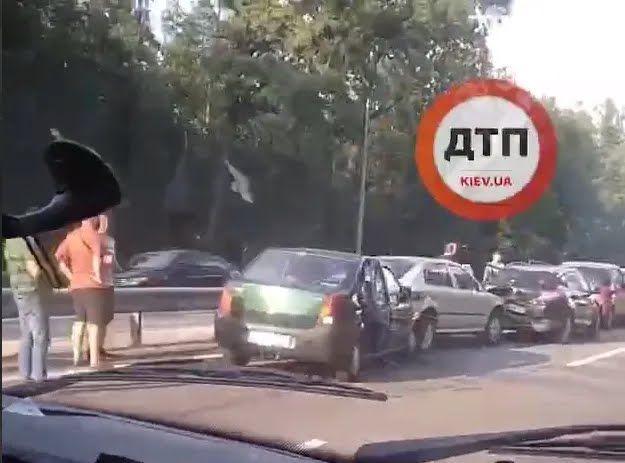 Аварія сталася біля повороту на село Чайки