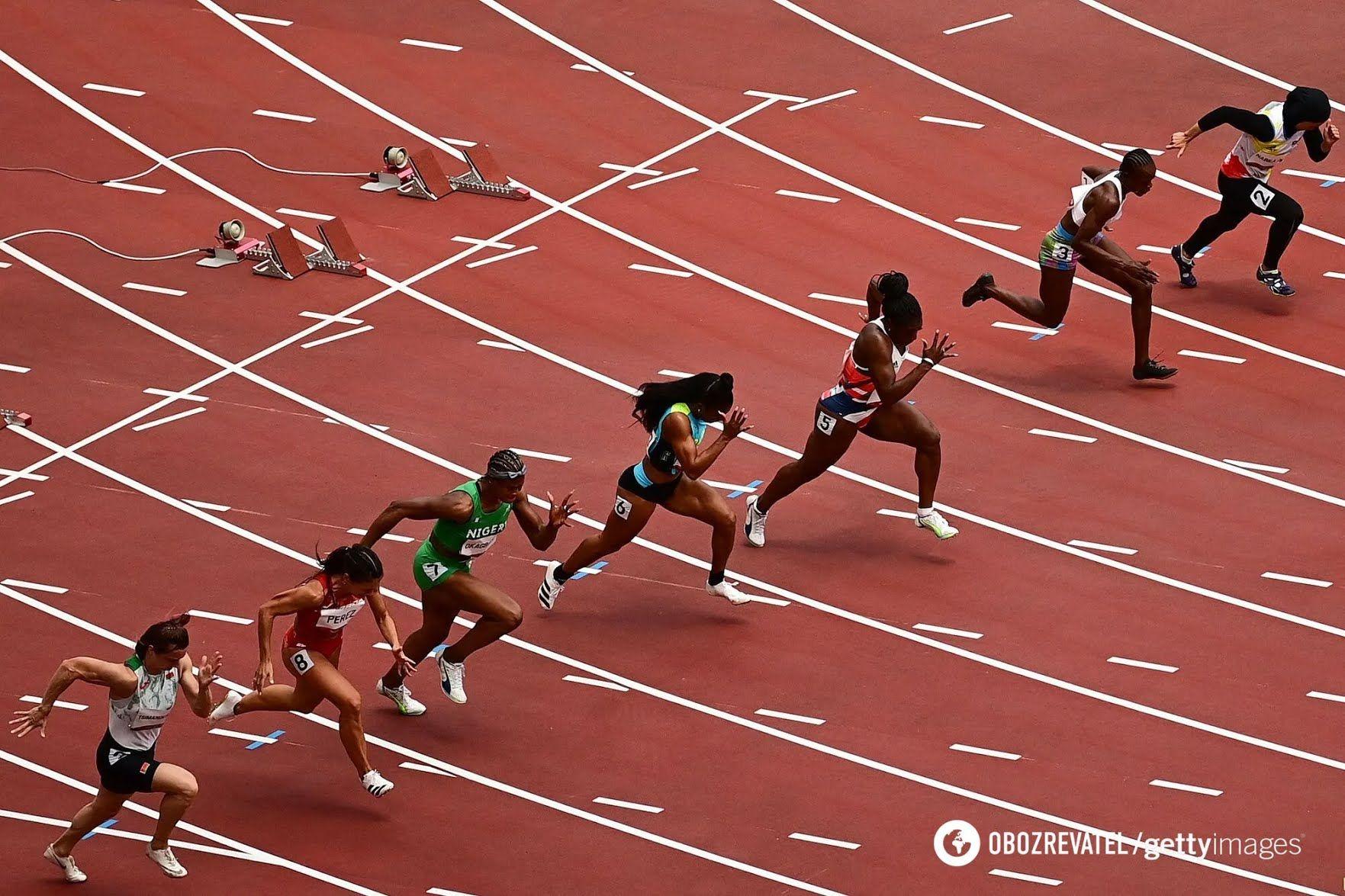Забег на Олимпиаде