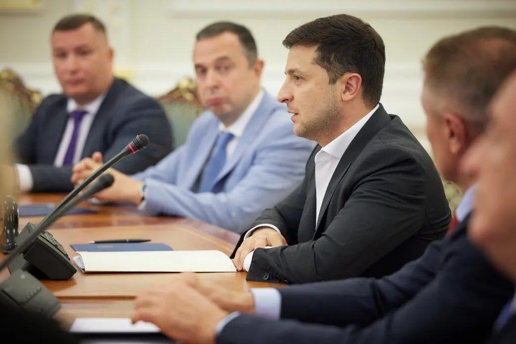 Володимир Зеленський і Вадим Гутцайт