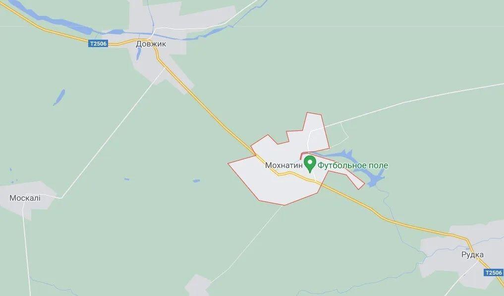 Авария произошла в селе Мохнатин