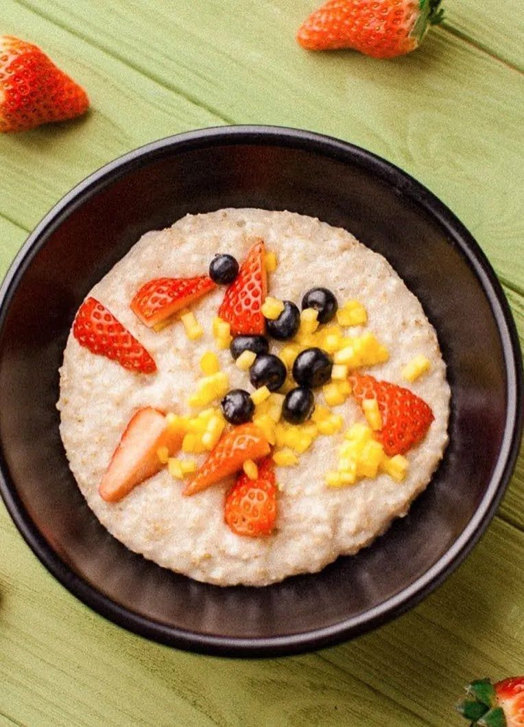 Вкусная овсянка на завтрак