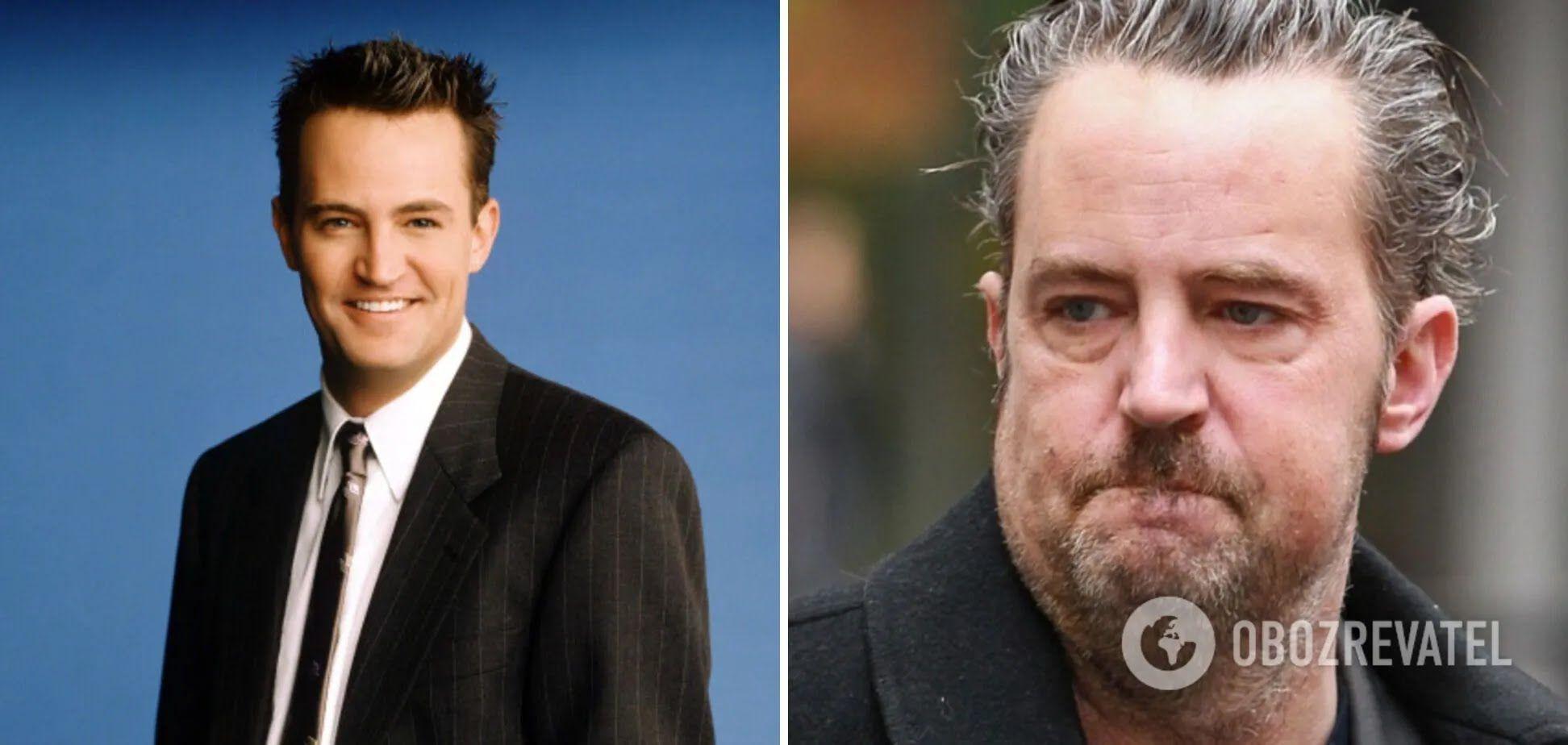 Голливудский актер Мэттью Пэрри набрал вес