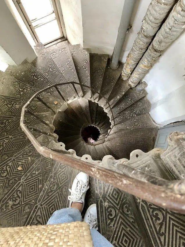 Старинная лестница.