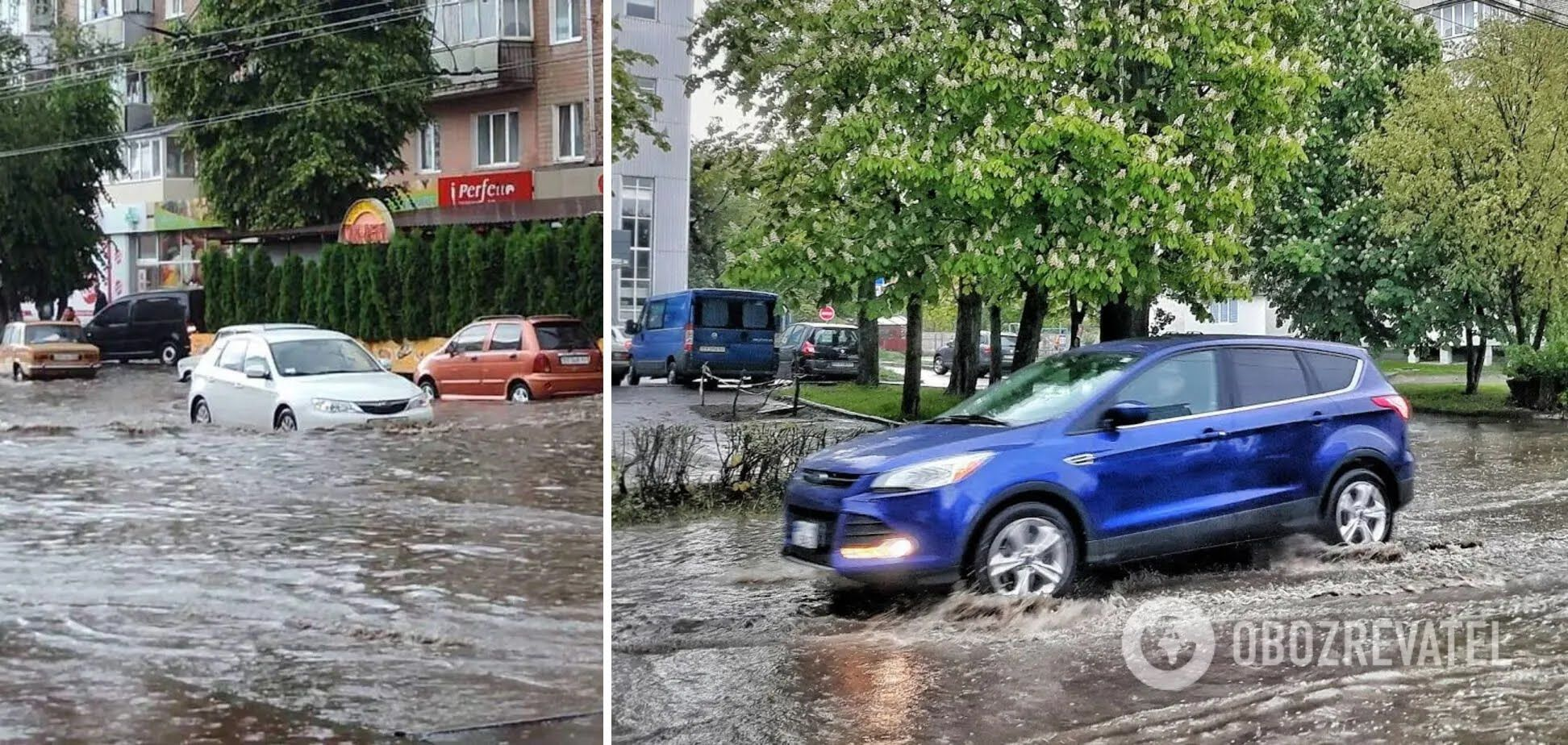 Потоп у Хмельницькому