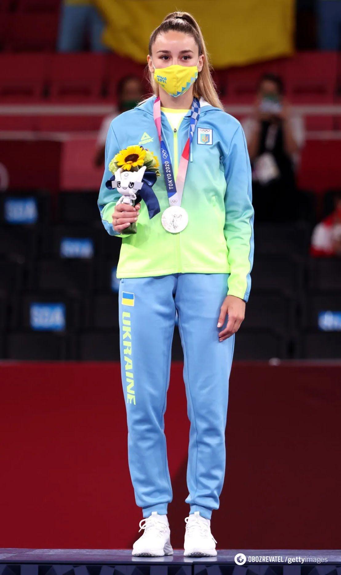 Терлюга стала віце-чемпіонкою ОІ.