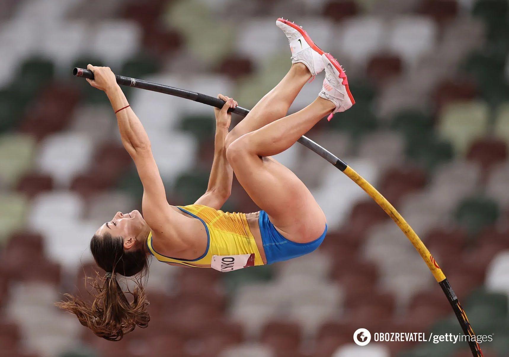Українська стрибунка з жердиною Марина Кіліпко