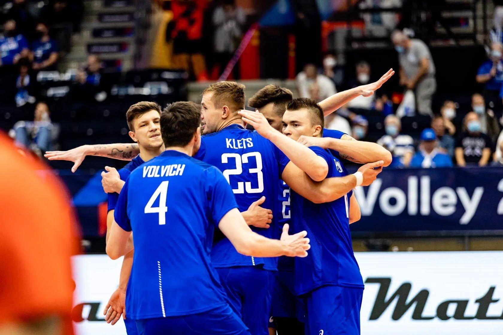 Сборная России по волейболу.