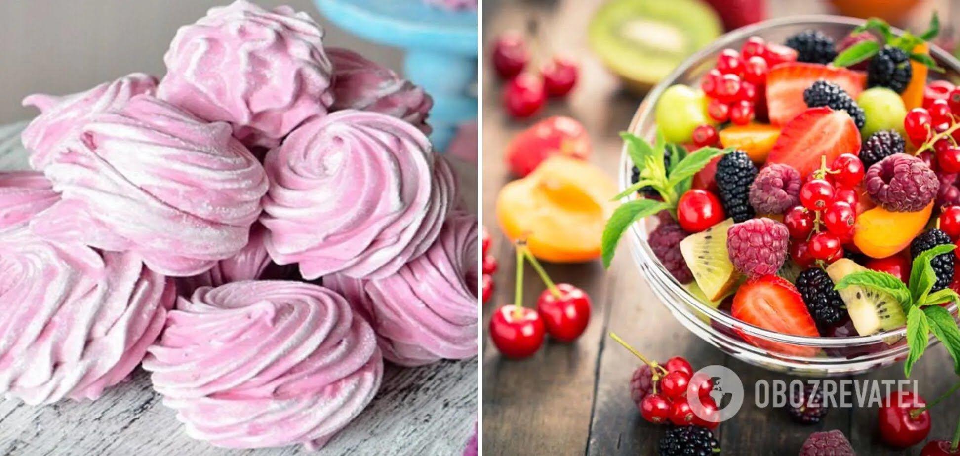 Домашний зефир из фруктов