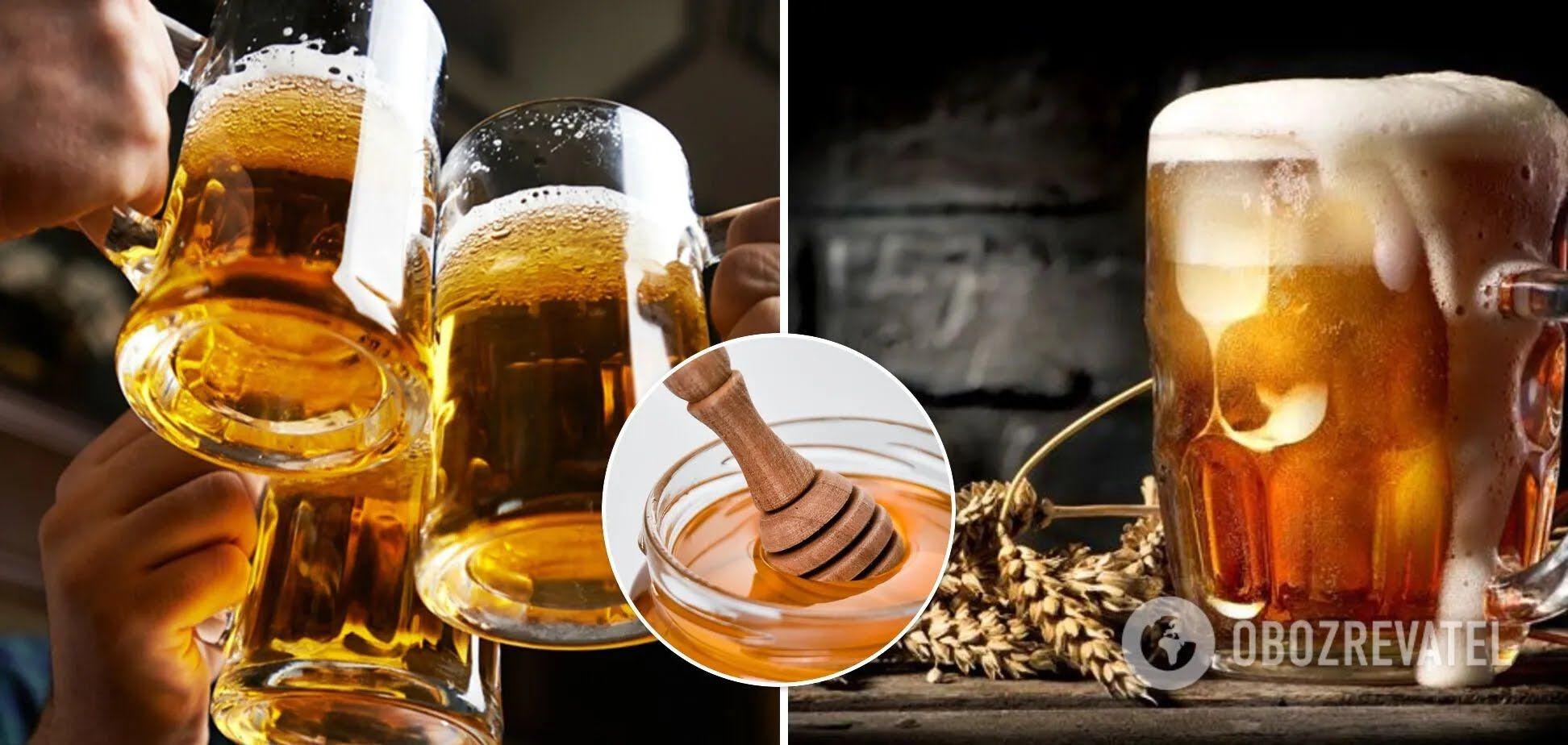 Пиво на основе меда