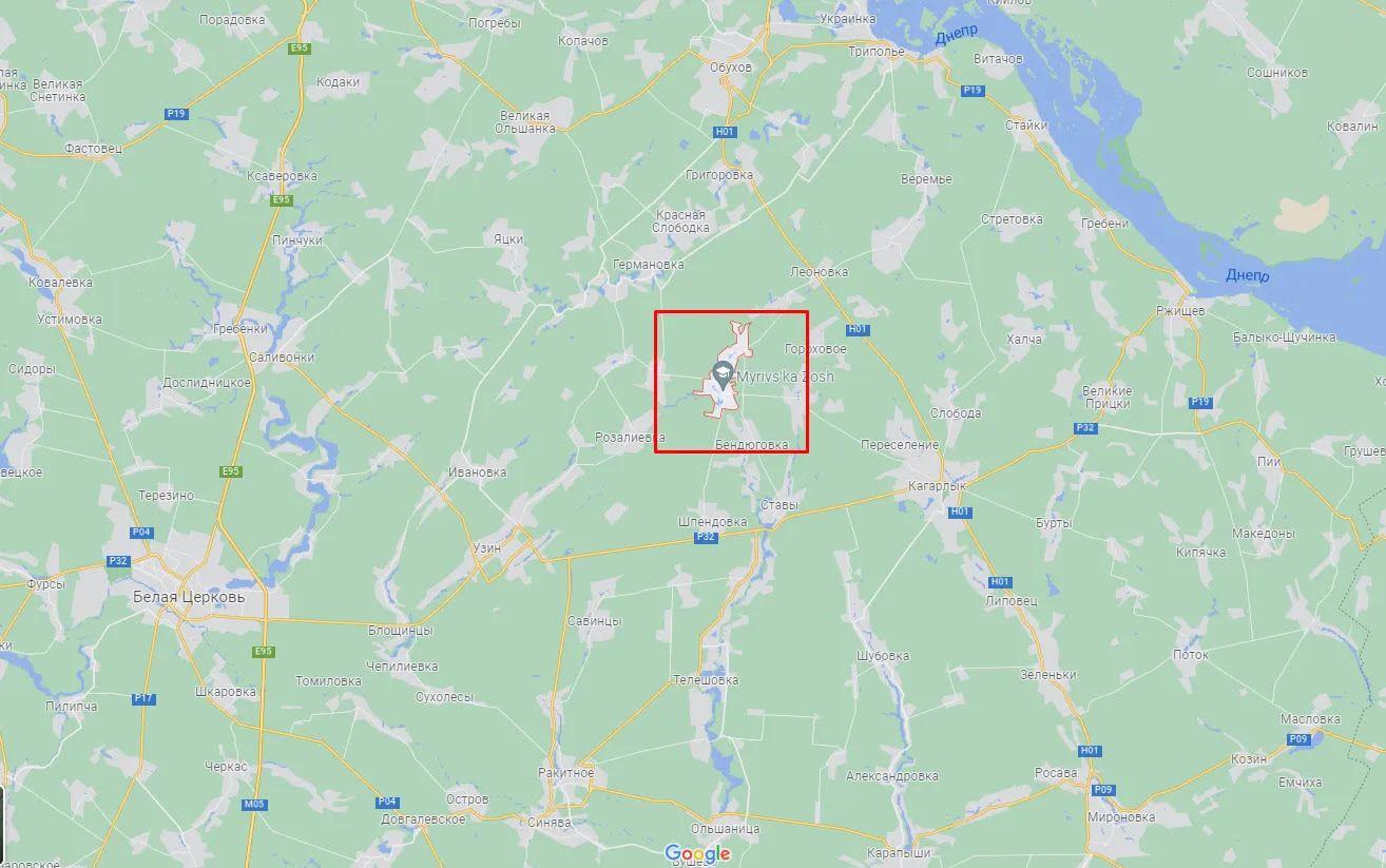 ДТП случилось недалеко от Мировки.
