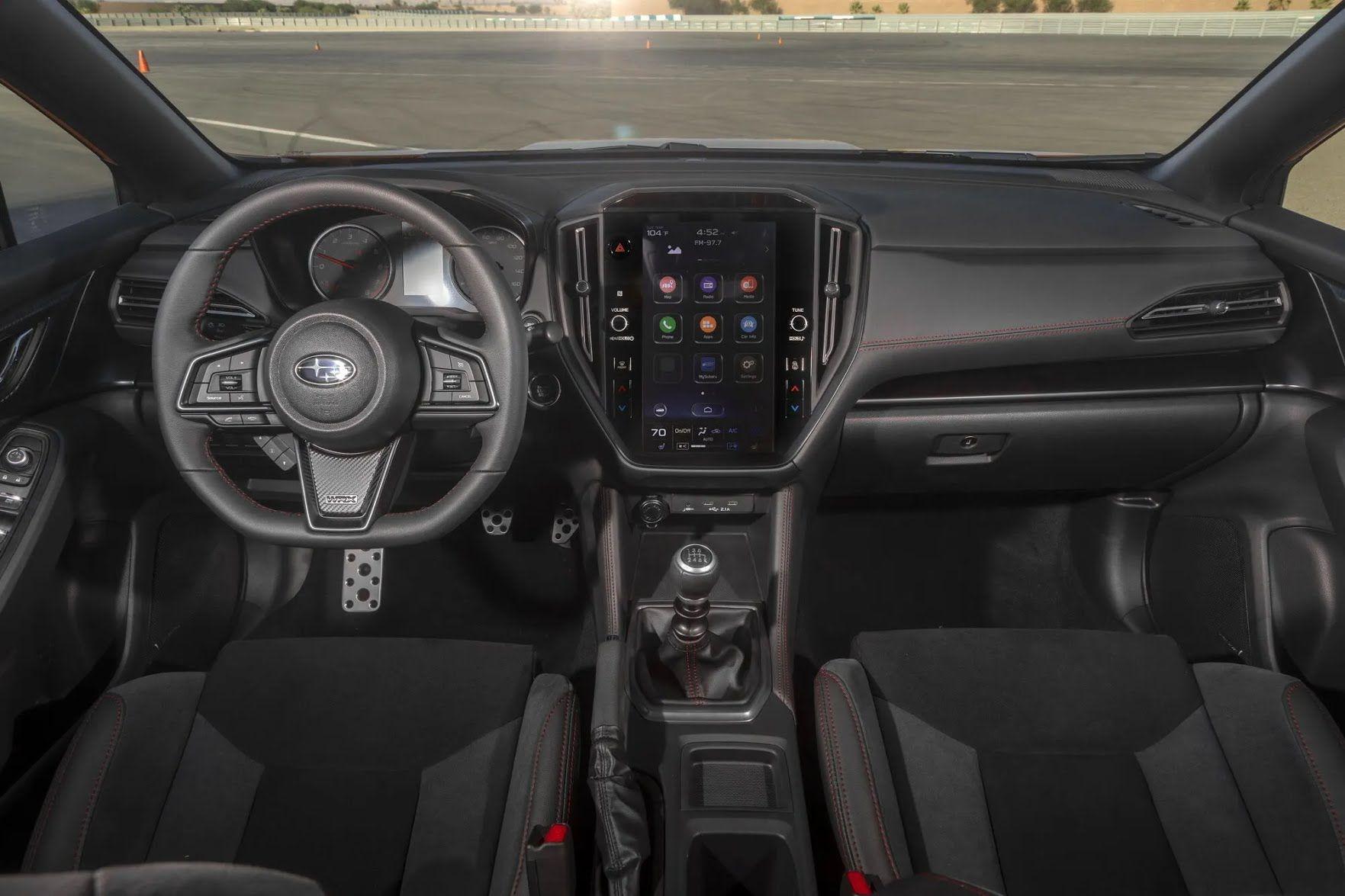 В салоне появилась новая мультимедийная система Subaru Starlink с 11,6-дюймовым сенсорным дисплеем