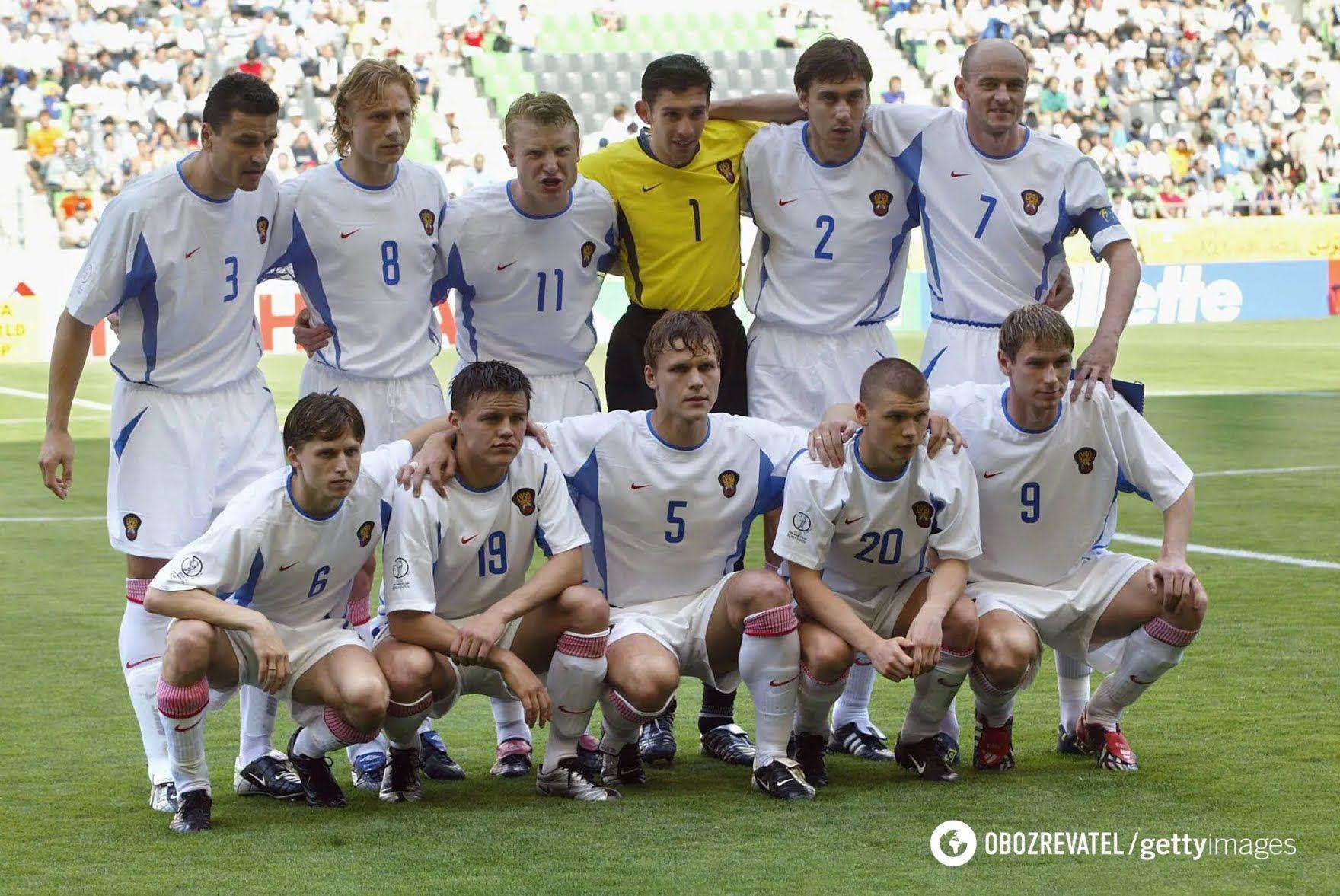 Сборная России по футболу (2002 год)