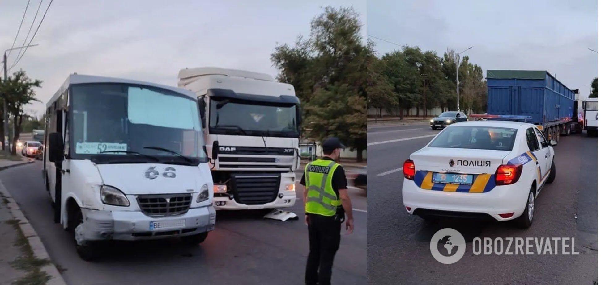 Конфликт на дороге прекратил патруль полиции