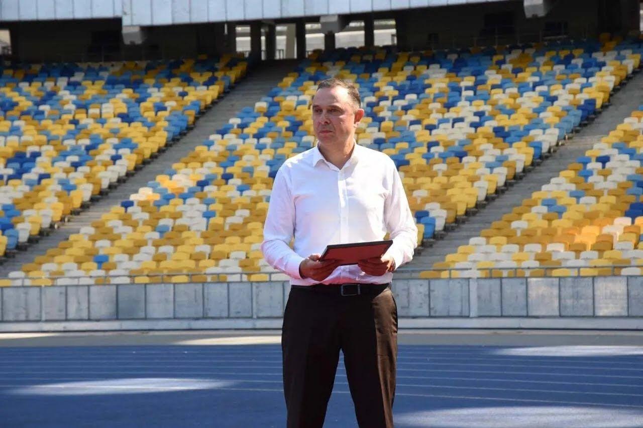 Міністр спорту Вадим Гутцайт.