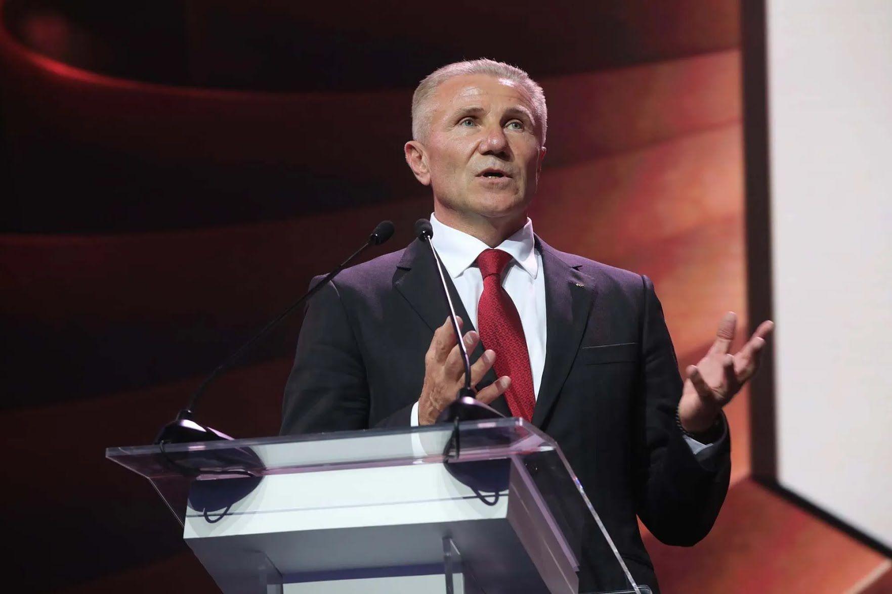Президент НОК Сергій Бубка.