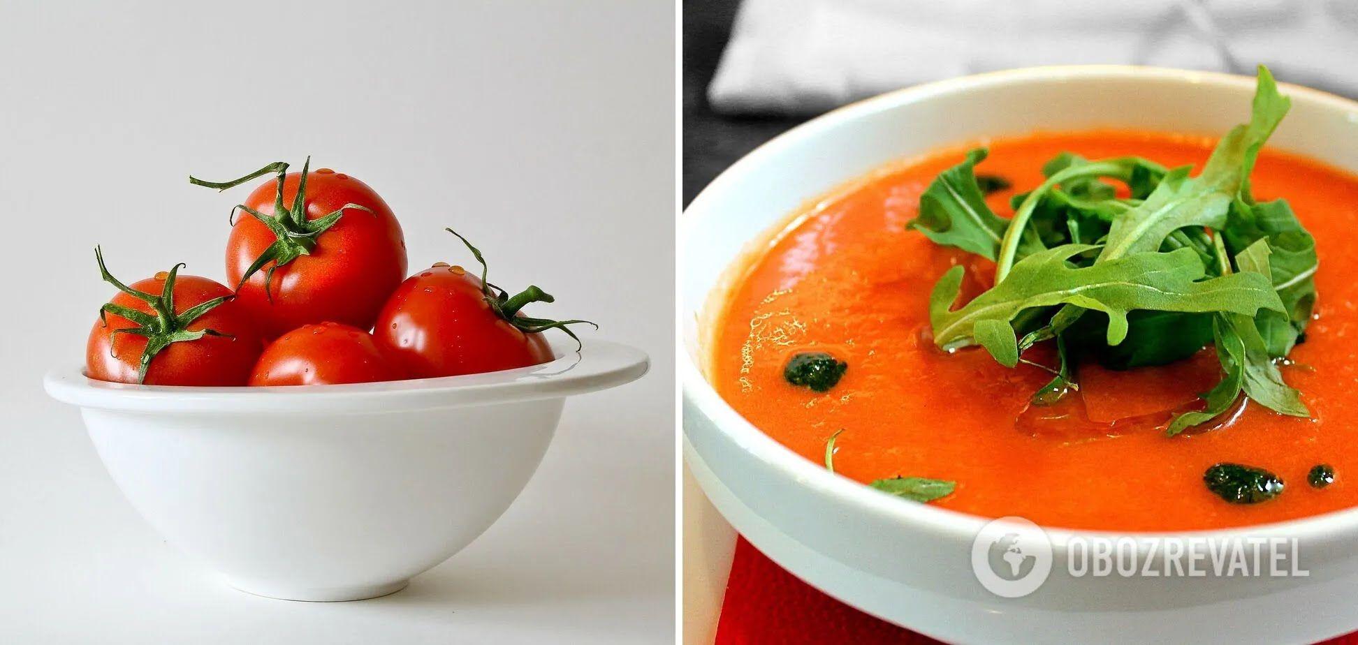 Тосканський томатний суп