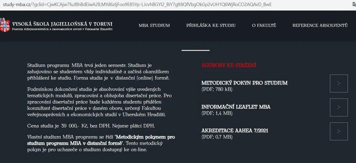 Скільки коштує навчання MBA в Польщі
