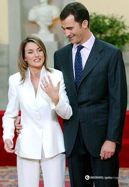 Летиция с мужем