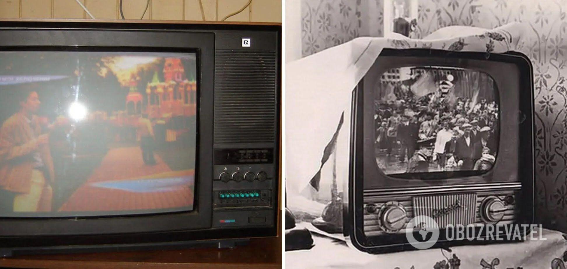 Колекціонери збирають раритетні телефізори часів СРСР