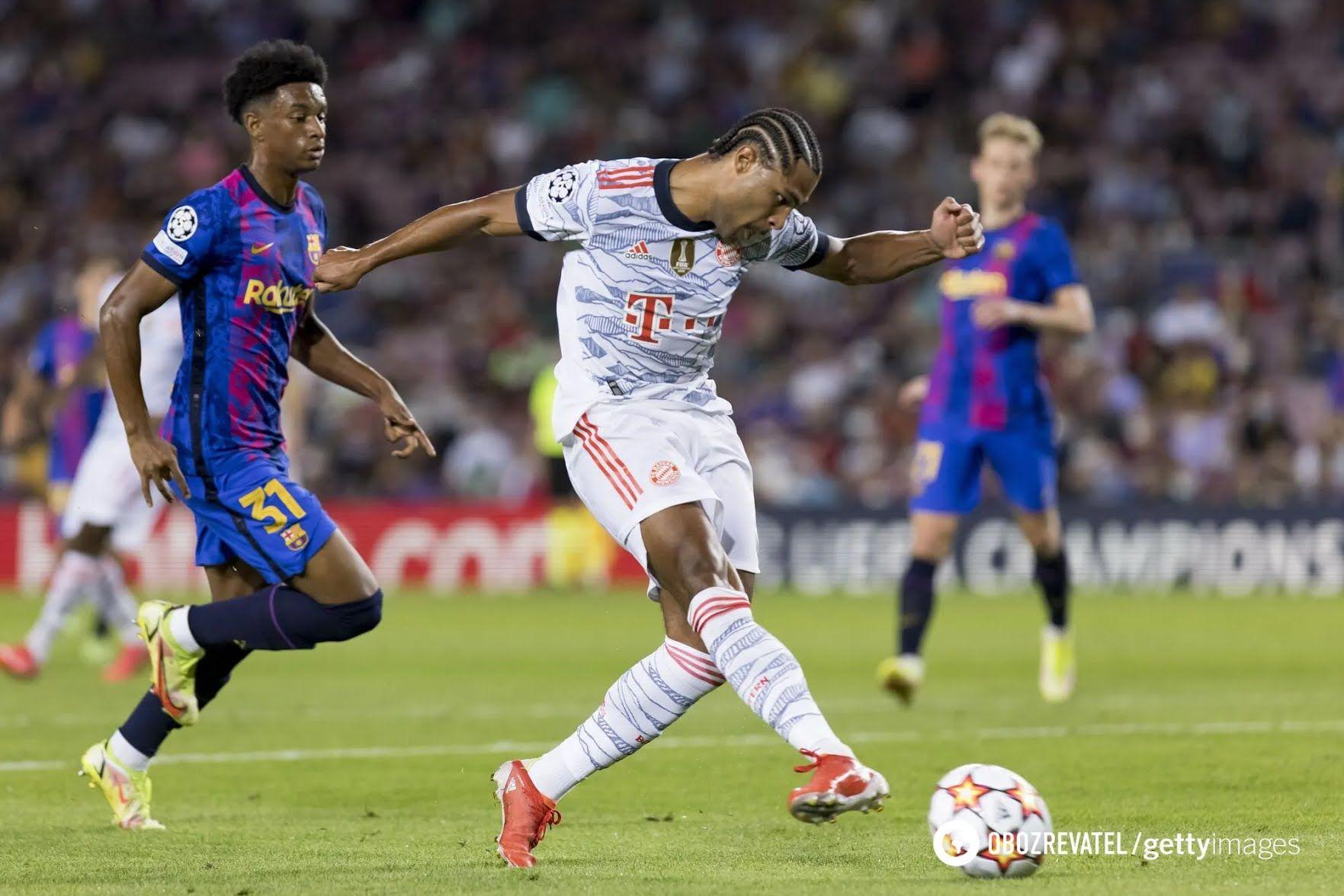 Барселона програла Баварії 0: 3