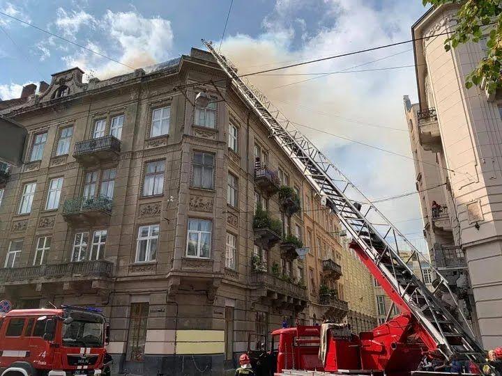 Будинок, де сталася пожежа